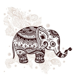 Ethnic elephant vector