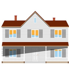 House two story vector