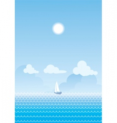 Sea nature vector