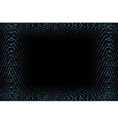 Frame of blue lights vector