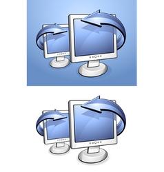 Lcd screens vector