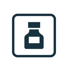 Drugs icon rounded squares button vector