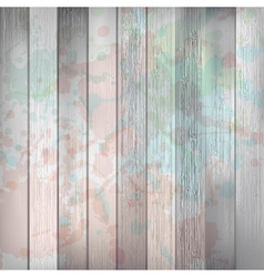 Wooden with paint splashes template plus eps10 vector