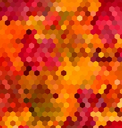 Abstract colorful honeycomb background design vector