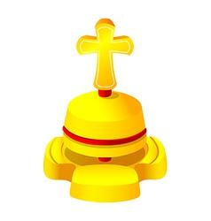 Icon church bell vector