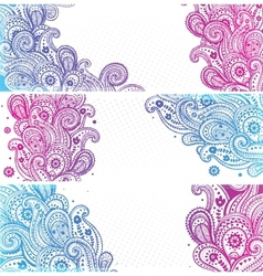 Beautiful indian paisley vector