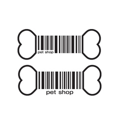Pet shop icon vector
