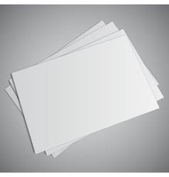 White business card vector