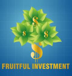 Fruitful investment vector