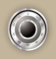 Safe dial vector