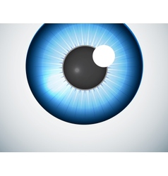 Blue eye ball background vector