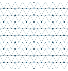 Abstract triangles pattern background vector