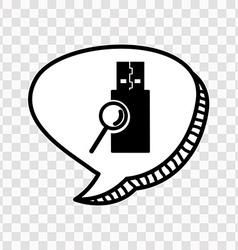 Computer icon vector