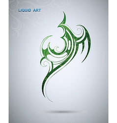 Abstract tribal design vector