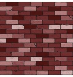 Brick wall seamless patterns vector