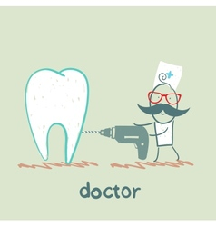 Sverdlov tooth doctor vector