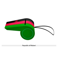 A whistle of the republic of malawi vector