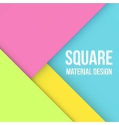 Color background unusual modern material design vector