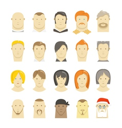 Faces vector