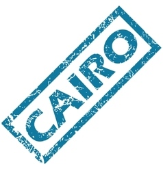 Cairo rubber stamp vector