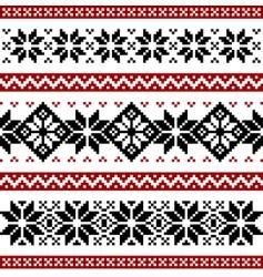 Nordic pattern vector