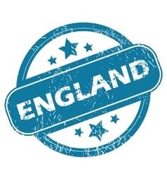 England round stamp vector
