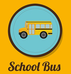 School bus design vector