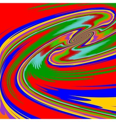 Design multicolor twirl movement background vector