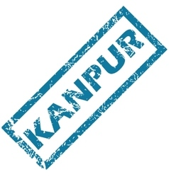 Kanpur rubber stamp vector