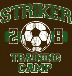 Soccer shirt design vector