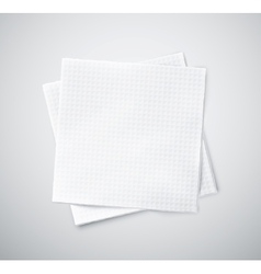 Two napkins vector