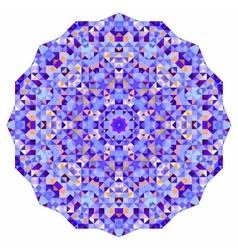Abstract colorful circle backdrop mosaic round vector