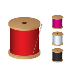 Cotton reel vector