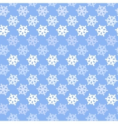 Color abstract snowflake pattern vector