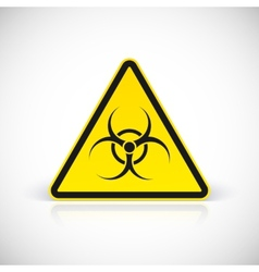 Biohazard symbol sign vector