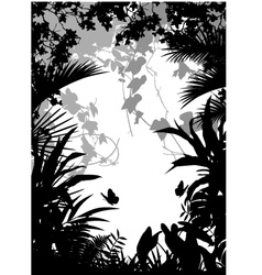 Jungle vector