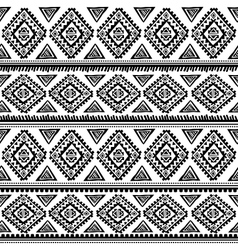 Tribal vintage ethnic pattern seamless vector