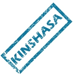 Kinshasa rubber stamp vector
