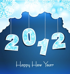 New year holiday vector