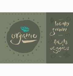 Organic vector