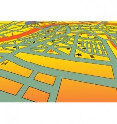 City streets vector