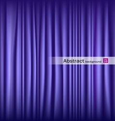 Purple theater curtain vector