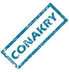 Conakry rubber stamp vector