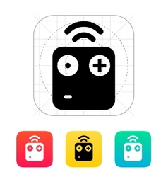 Wireless remote icon vector