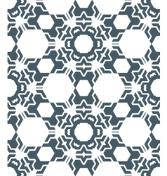 Geometric abstract monochrome mosaic seamless vector
