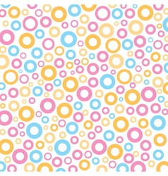 Colorful round circle mix pattern background vector