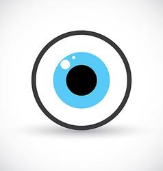 Eye symbol icon vector