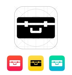Box for quadcopter icon vector