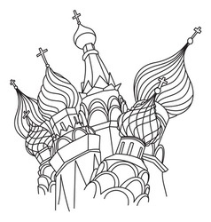Moscow resize vector