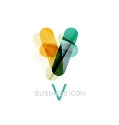 Minimal font or letter logo design vector